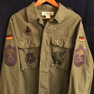 X-RAY Army green jacket for men